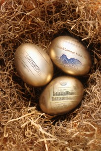 Eggs representing Planning for Retirement